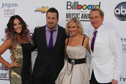 Lacey Schwimmer, Joey Fatone, Anya Garnis, Carson Kressley on the red carpet at the Billboard Music Awards 2012 in Las Vegas.