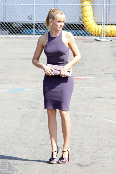 Beth Behrs is spotted at the 2012 Independent Spirit Awards in Santa Monica.