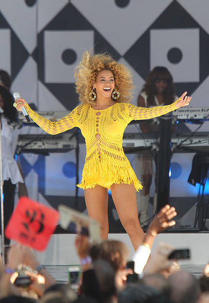 Beyonce Knowles - Beyonce Performs Live in Central Park on Good Morning America