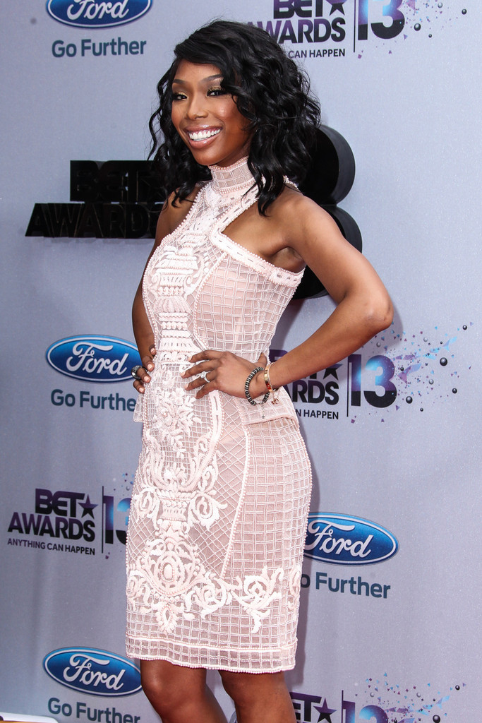 Brandy - Celebs at the BET Awards