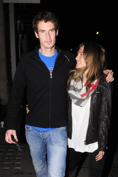 andy murray girlfriend. Andy Murray and Kim Sears in