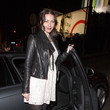 Louise Griffiths British singer and actress Louise Griffiths leaves the Chateau Marmont after a night out in Los Angeles