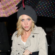 Brittany Snow and Jessica Stroup at Beso