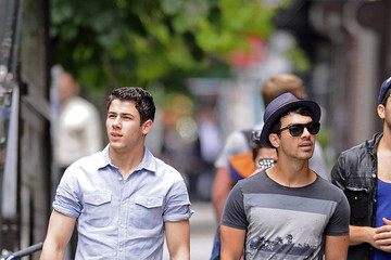 Jonas Brothers The Jonas Brothers Lunch in NYC