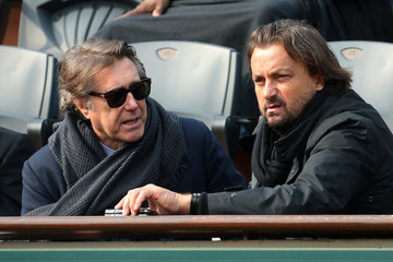 Bryan Ferry Henri Leconte Bryan Ferry and Henri Leconte at the French Open