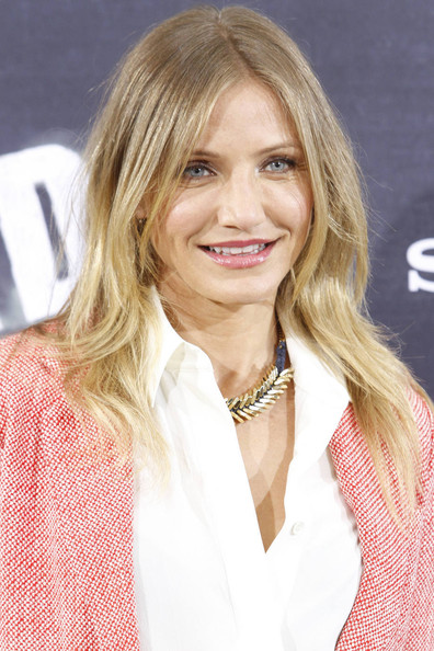 "Cameron Diaz looking leggy in short shorts at the photocall for her new movie ""Bad Teacher"" in Madrid. Cameron teams up with ex-boyfriend Justin Timberlake for the film, which sees her play a foul mouthed, morally questionable high school teacher."