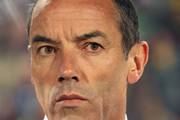 Paul Le Guen, coach of Cameroon, during a first round match, Cameroon - Denmark 1-2, first round of the World Cup 2010, held at the Loftus Versfeld Stadium in Pretoria.