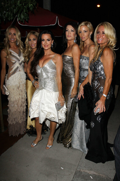 "Camille Grammer ""The Real Housewives of Beverly Hills"" cast glam up for"