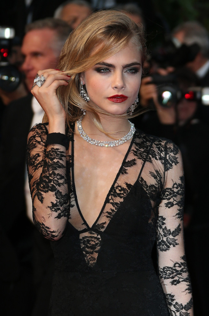 Cara Delevingne - Arrivals at the Cannes Opening Ceremony