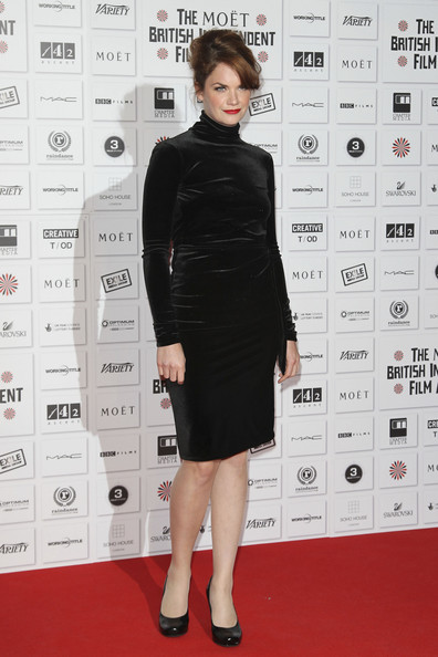 Ruth Wilson on the red carpet at the Moet British Independent Film Awards at the Old Billingsgate Market, London.
