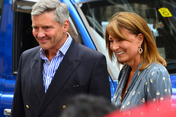 Carole Middleton The Prince of Cambridge's Grandparents at St. Mary's