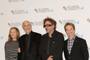 Catherine O'Hara, Martin Landau, Tim Burton and Martin Short seen attending a photocall for new animated film 'Frankenweenie' held at the Corinthia Hotel, London.