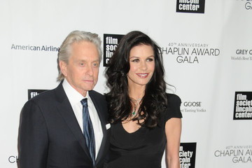 Catherine Zeta Jones Celebs at the Chaplin Award Gala