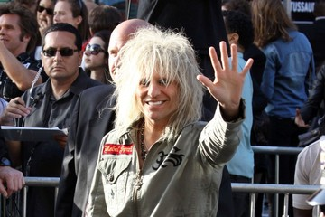 C.C. DeVille Celebs at the 'Rock of Ages' Premiere in L.A.