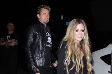Chad Kroeger Avril Lavigne Likes a Little Wine with Her Big Cheese