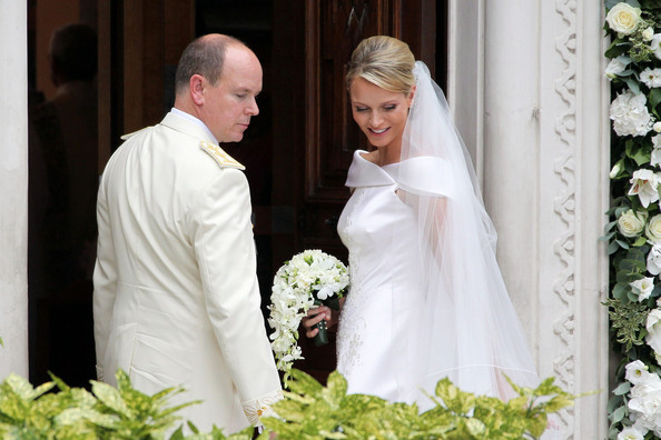 Charlene Wittstock Pictures - People Outside the Sainte ...