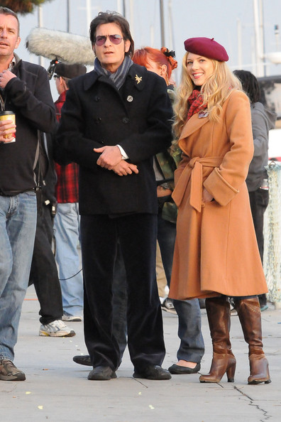Charlie Sheen - Charlie Sheen and Katheryn Winnick Film