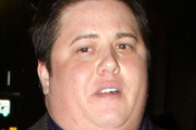 Chaz Bono and girlfriend Jennifer Elia attend an event at the Kantor Gallery with his mom, Cher. Born Chastity Bono, Chaz is currently undergoing gender reassignement.