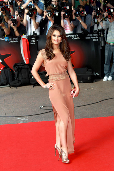 "Cheryl Cole Cheryl Cole - rumoured to be cast in the new USA ""X Factor"" - poses on the red carpet at the Prince's Trust awards in London."