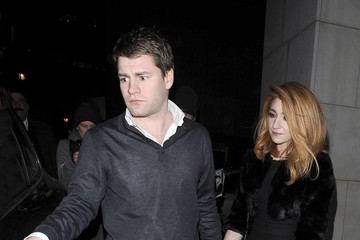 Charlie Fennell Cheryl Cole Arrives at Nobu restaurant in London