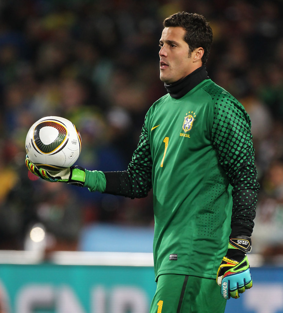Julio Cesar in Chile vs Brazil at the World Cup - Zimbio
