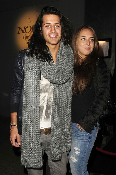 Ollie Locke and Chloe Green Dine Out in London