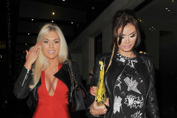 Chloe Sims Frankie Essex Celebs Party Late in London 3