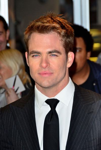 Chris Pine at the This Means War premiere!