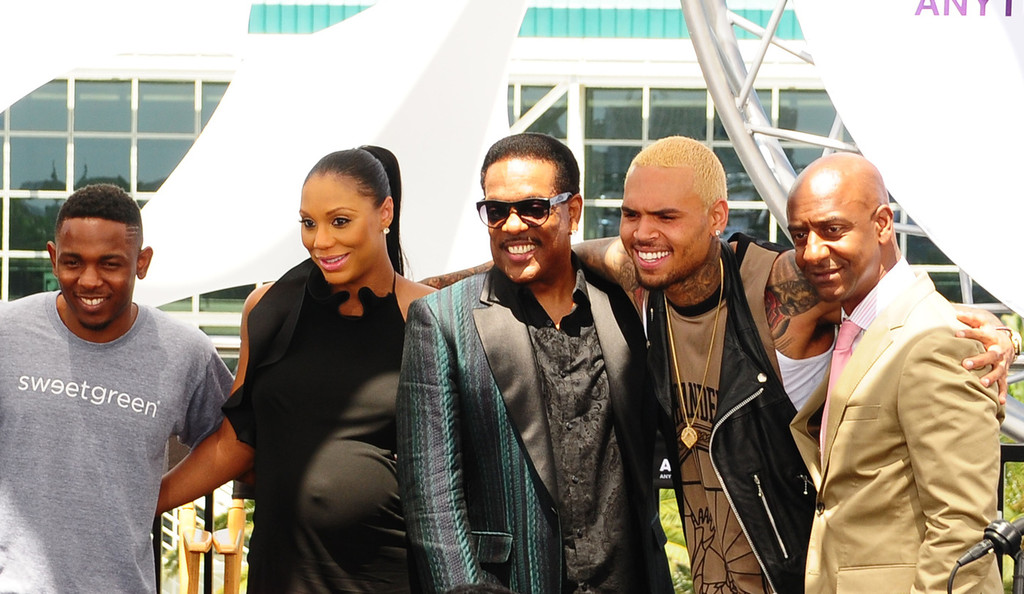7315ccbe1f84 Chris Brown at Celebs at the BET Awards Press Conference — Part 2 in Los  Angeles (14.05.2013)