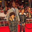Oswald Boateng Stars at 'The Avengers' Premiere in London