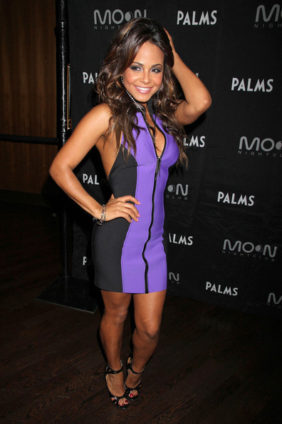 Christina+Milian in Christina Milian at the Palms Hotel