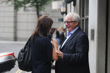 Christopher Biggins Melanie Sykes Celebs Attend at ITV VIP Breakfast