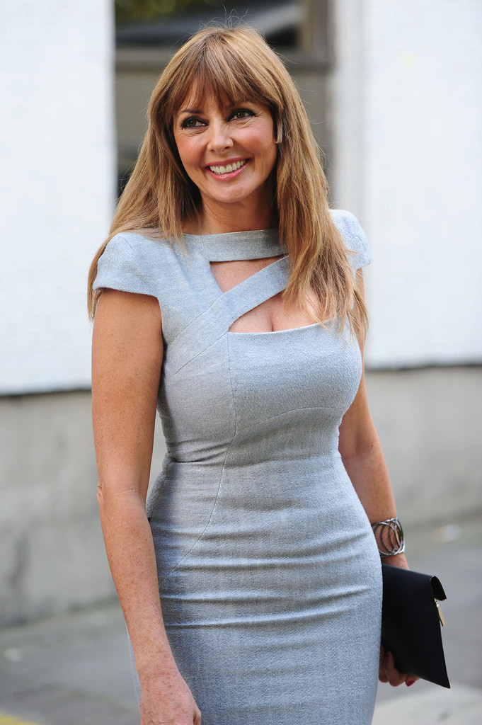 carol vorderman photos photos claire sweeney seen leaving after recording programs at the itv. Black Bedroom Furniture Sets. Home Design Ideas