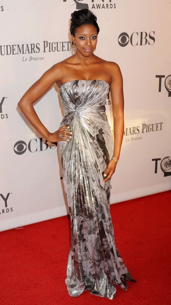 Condola Rashad - Celebs at the Tony Awards