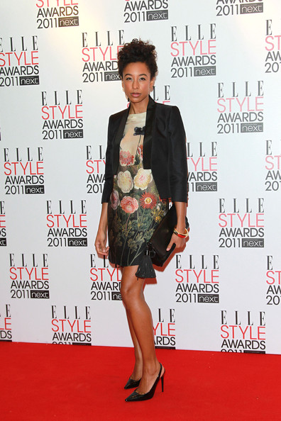 Corinne Bailey Rae Corinne Bailey Rae poses for photographs on the red carpet of the Elle Style Awards, Grand Connaught Rooms in London.