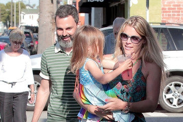 Busy Philipps Marc Silverstein Busy Phillips and Marc Silverstein Out and About