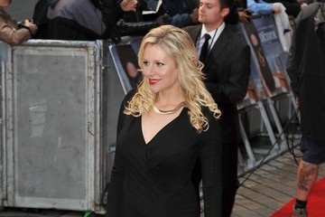 Abi Titmuss Stars at the Premiere of 'The Dictator' in London