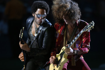 Craig Ross Lenny Kravitz Performs in New York City