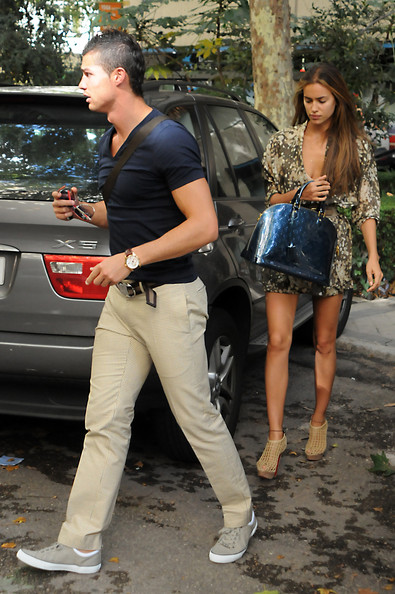 cristiano ronaldo girlfriend 2010 irina. Cristiano Ronaldo and Irina