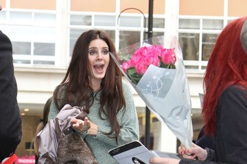 Lana Del Rey Greets Her Fans in London
