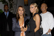 """Dancing with the Stars"" pro dancers Cheryl Burke and Kym Johnson and Kym's celeb partner Hines Ward kick back at Chateau Marmont following Monday night's live show."