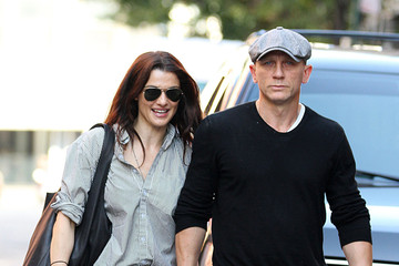 Daniel Craig Rachel Weisz Daniel Craig and Rachel Weisz Out in NYC