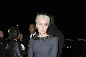 Daphne Guinness LFW: Arrivals at the Harpers Bazaar Party