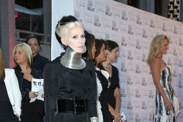 Daphne Guinness Iman attending the Ballet Fall Gala 2012 at the David H. Koch Theatre of the Lincoln Centre in New York City