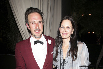 David Arquette Courteney Cox David Arquette and Courteney Cox at The Roosevelt in Hollywood