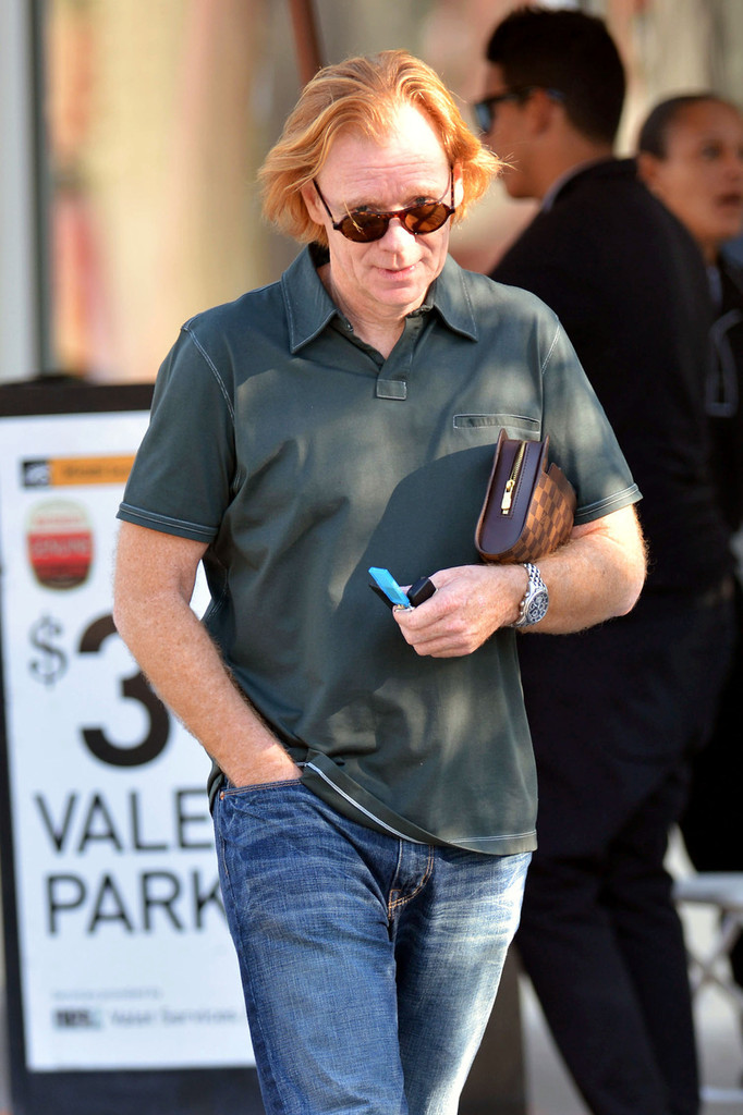 David Caruso Grabs a Meal in Miami - Zimbio