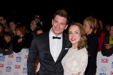 David Witts Celebs at the National Television Awards in London