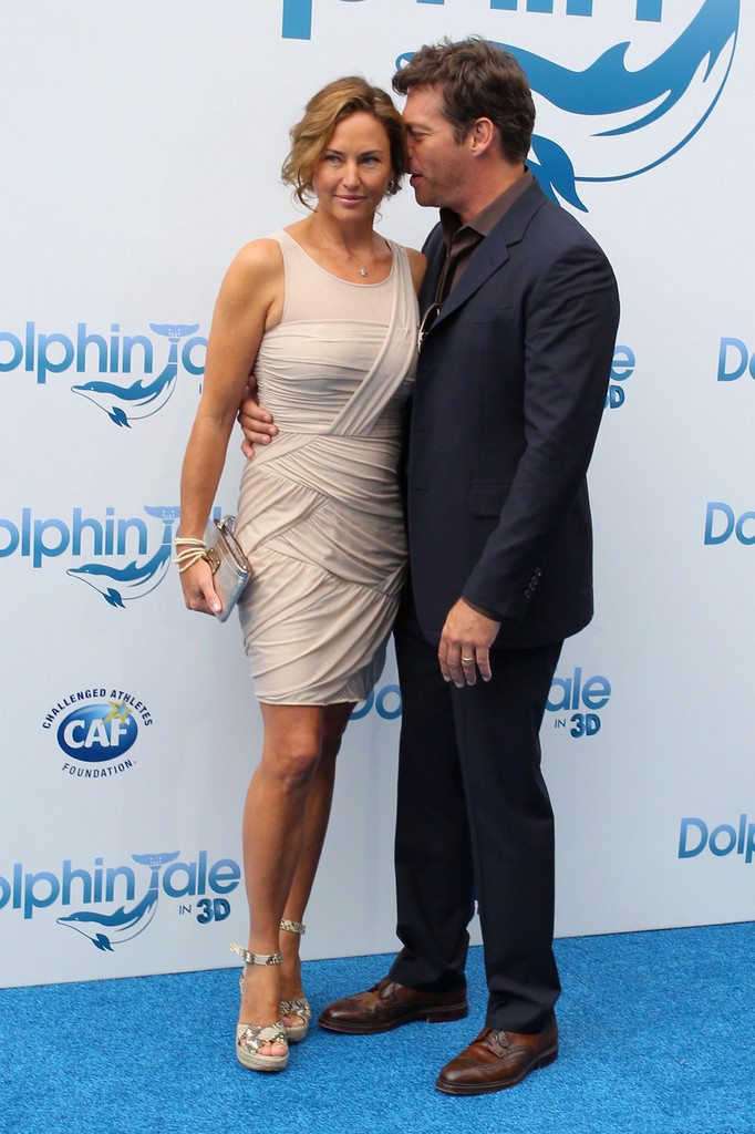 "Jill Goodacre in Premiere of ""Dolphin Tale"" at The Village ..."