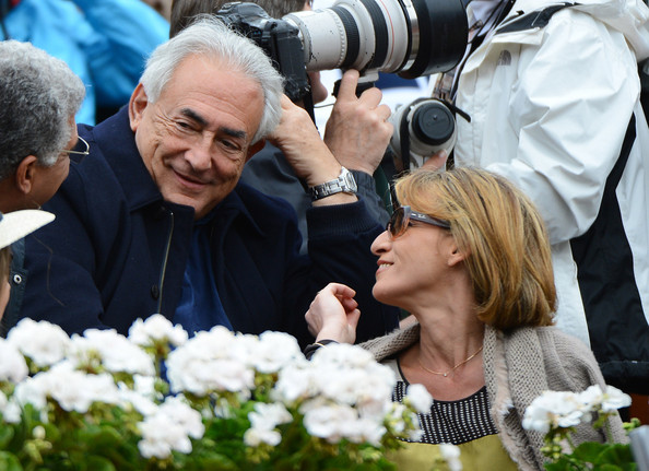Celebs Watch the French Open in Paris