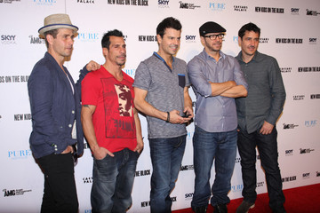 Donnie Wahlberg Danny Wood New Kids on the Block in Vegas